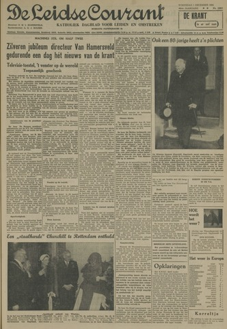 Leidse Courant 1954-12-01