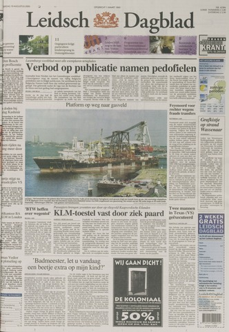 Leidsch Dagblad 2000-08-10