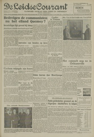 Leidse Courant 1954-09-13