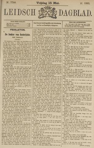 Leidsch Dagblad 1885-05-15
