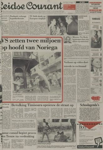 Leidse Courant 1989-12-21