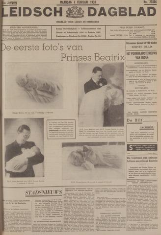Leidsch Dagblad 1938-02-07