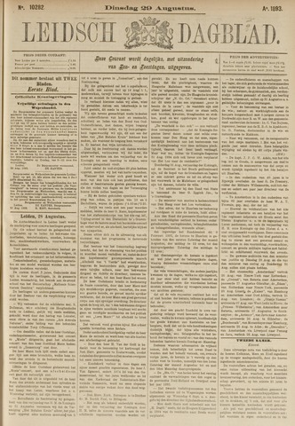 Leidsch Dagblad 1893-08-29