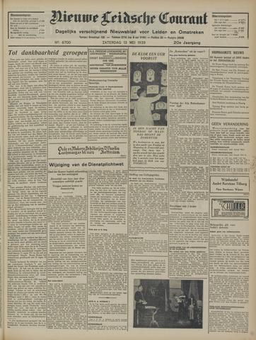 Nieuwe Leidsche Courant 1939-05-13