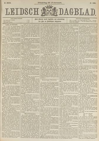 Leidsch Dagblad 1894-02-27