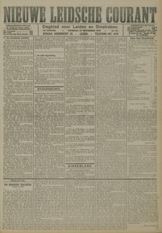 Nieuwe Leidsche Courant 1921-12-27