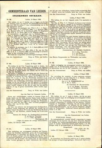 Handelingen van de Raad 1906-03-10