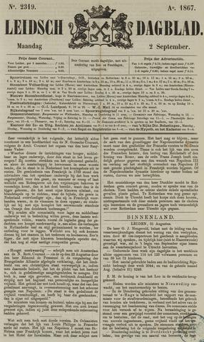 Leidsch Dagblad 1867-09-02