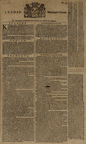 Leydse Courant 1779-04-26