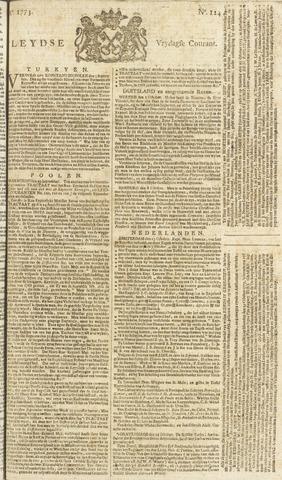 Leydse Courant 1773-10-15