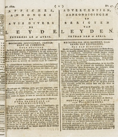 Leydse Courant 1812-04-17