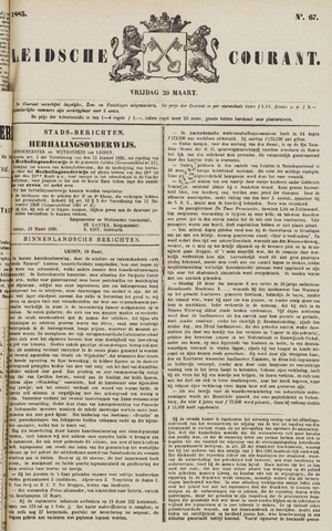 Leydse Courant 1885-03-20
