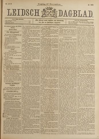 Leidsch Dagblad 1899-11-17