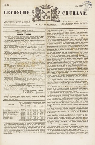 Leydse Courant 1862-12-12