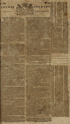 Leydse Courant 1784-11-22