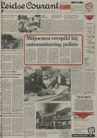 Leidse Courant 1989-09-15