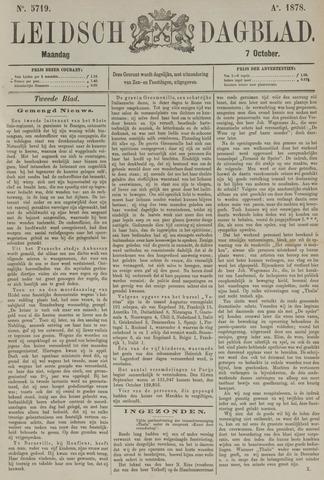 Leidsch Dagblad 1878-10-07