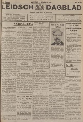 Leidsch Dagblad 1937-11-10