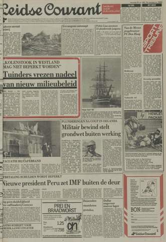 Leidse Courant 1985-07-29