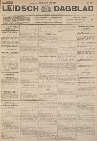 Leidsch Dagblad 1928-07-30