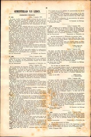 Handelingen van de Raad 1883-07-07