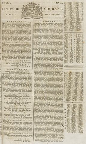 Leydse Courant 1825-02-21