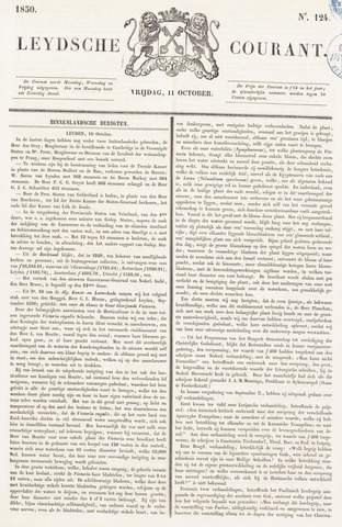 Leydse Courant 1850-10-11
