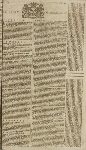 Leydse Courant 1773-09-15