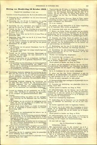 Handelingen van de Raad 1913-10-16
