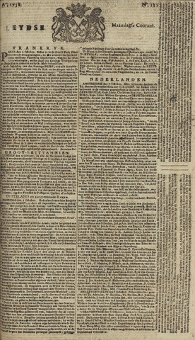 Leydse Courant 1758-10-09