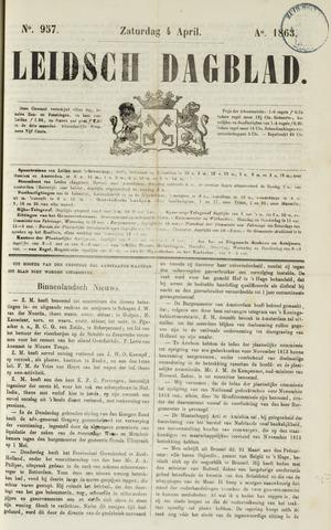 Leidsch Dagblad 1863-04-04