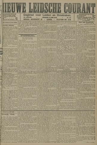 Nieuwe Leidsche Courant 1921-05-13