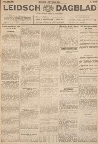 Leidsch Dagblad 1928-09-03
