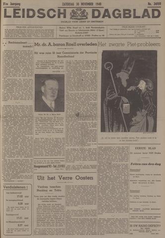 Leidsch Dagblad 1940-11-30
