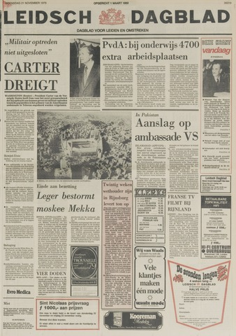 Leidsch Dagblad 1979-11-21