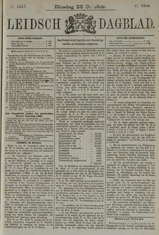 Leidsch Dagblad 1880-10-26