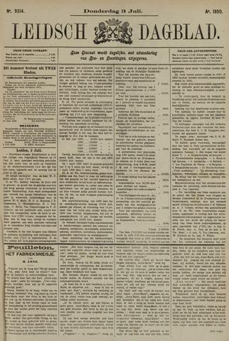 Leidsch Dagblad 1890-07-03