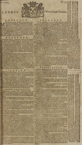Leydse Courant 1770-01-24