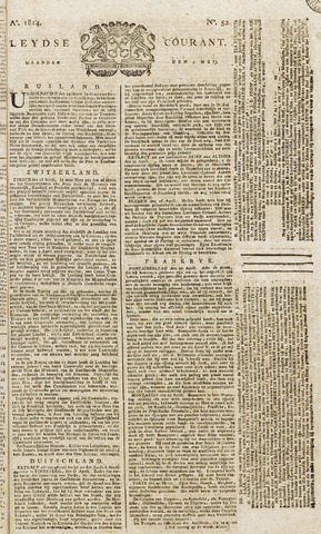 Leydse Courant 1814-05-02