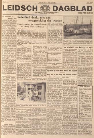 Leidsch Dagblad 1949-01-22