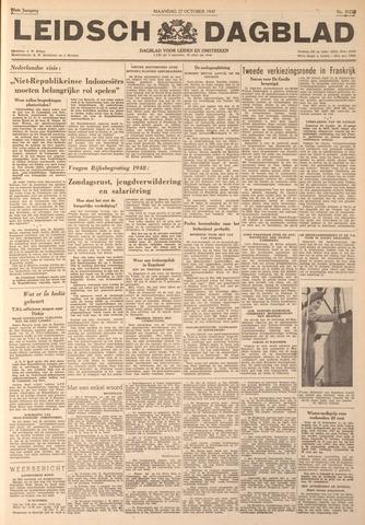 Leidsch Dagblad 1947-10-27