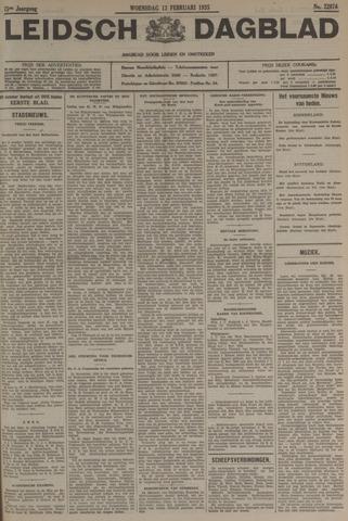 Leidsch Dagblad 1935-02-13