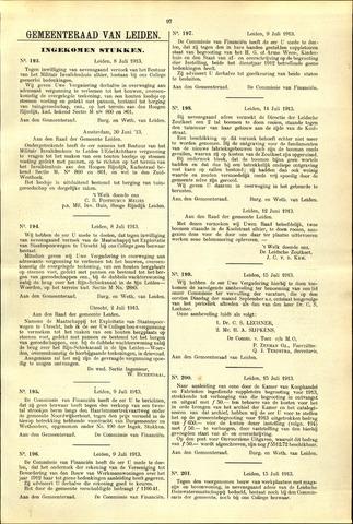 Handelingen van de Raad 1913-07-08