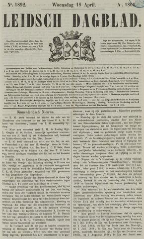 Leidsch Dagblad 1866-04-18