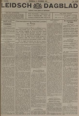 Leidsch Dagblad 1935-12-11