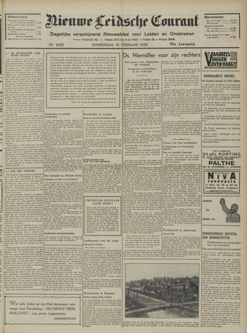 Nieuwe Leidsche Courant 1938-02-10