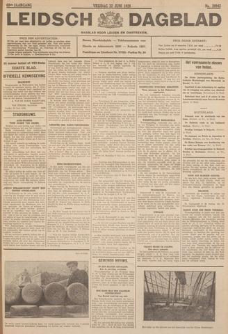 Leidsch Dagblad 1928-06-22