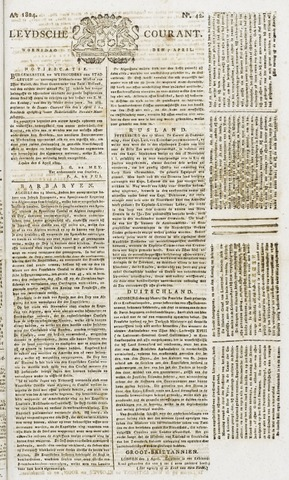 Leydse Courant 1824-04-07
