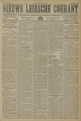 Nieuwe Leidsche Courant 1927-05-30