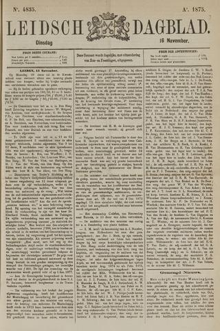 Leidsch Dagblad 1875-11-16